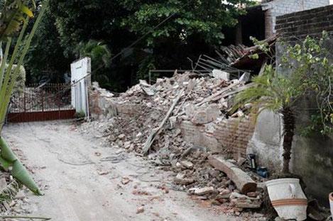 Un terremoto que sacude fuerte a México