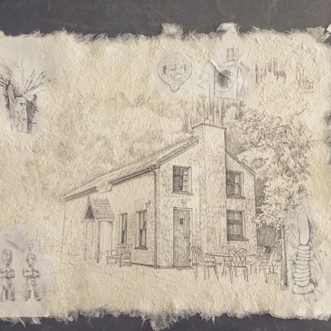 artist Philippe Devaud art Railway Cottage Glenbeigh Kerry Ireland