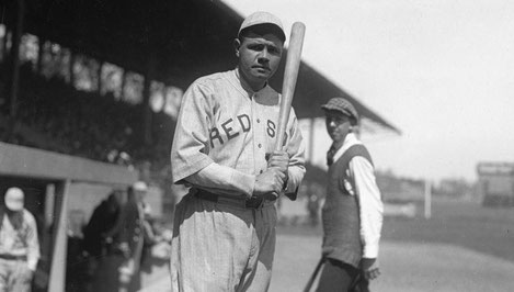 Babe Ruth con i Red Sox (Getty Images)