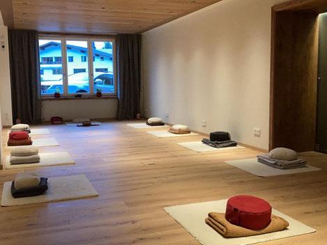 Seminarraumbeispiel Meditations & Impulswanderwoche