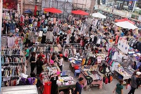 Saigon flea market ho chi minh