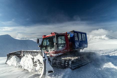 PB300W Polar, Snowcat, catskiing, freeride, pioneers