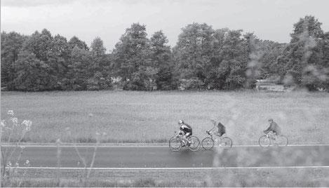 » Die anderen sind eine andere Klasse. Aber für mich ist der Radsport ein wunderbarer Ausgleich «