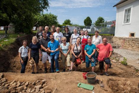 Ausgrabungen Tempel Frauenberg
