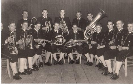 Aitrang Musikkapelle Weihnachtskonzert 1956