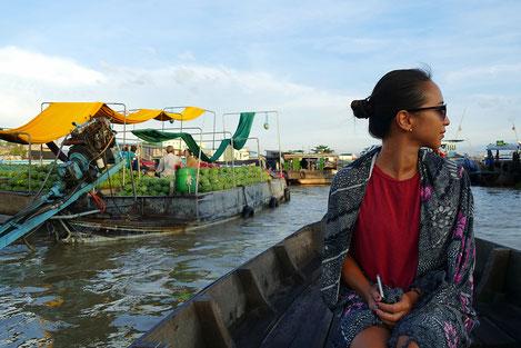 Der Cai Rang Floating Market