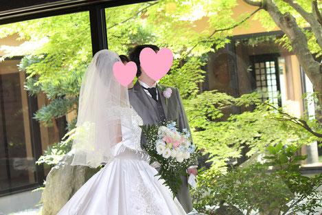 会員様 結婚式にて