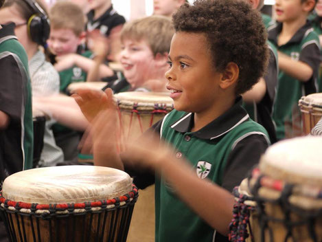 instrument africain djembe