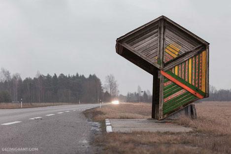«Soviet Bus Stops» - Автобусные остановки СССР
