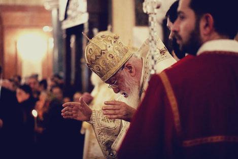 Патриарх Грузии призвал «грузинских эмигрантов» вернуться на родину