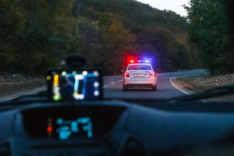 В Грузии вводится бесконтактное патрулирование дорог