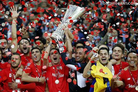 Сегодня в Тбилиси прибудет действующий победитель Лиги Европы УЕФА - испанская «Севилья»