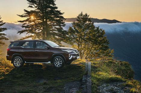 «Toyota» сняла рекламный ролик для своего нового внедорожника в Грузии