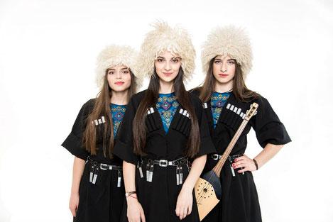 Грузинское трио «Мандили» отправляется в турне по Европе