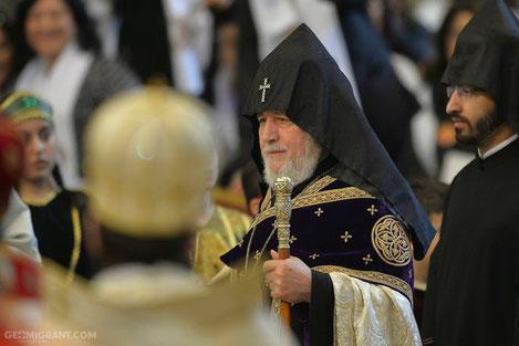 Католикос всех армян Гарегин II переосвятил церковь 13 века в Тбилиси