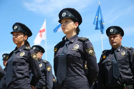 Как работает патрульная полиция Грузии?