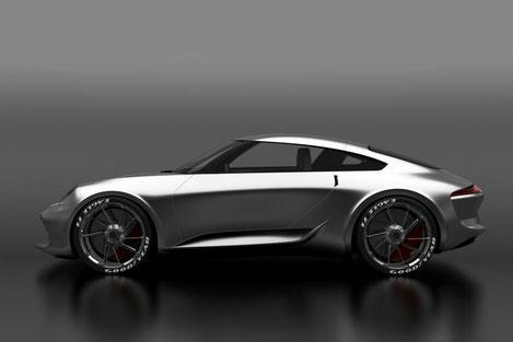 Грузинский дизайнер нарисовал новый «Porsche 911»