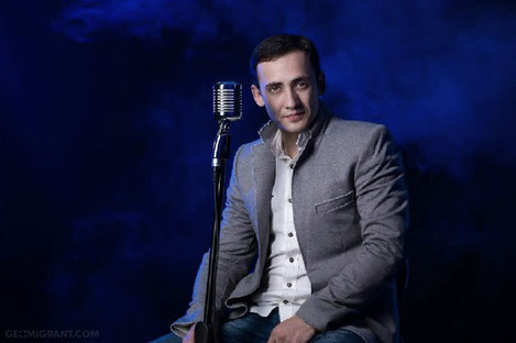 В Москве состоится концерт самого романтичного певца Грузии Дато Кенчиашвили