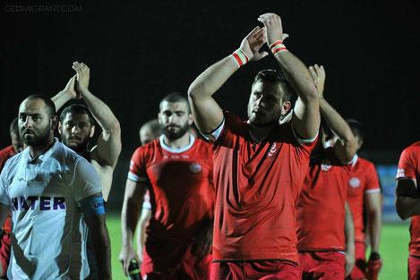 Сборная Грузии по регби стала обладателем «Кубка европейских наций»