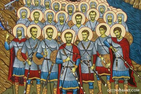Сегодня Грузинская православная церковь помянет святых, погибших в «Крцанисской Битве»