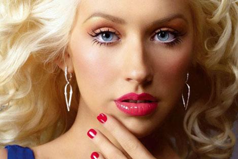 Christina Aguilera прибыла в Грузию