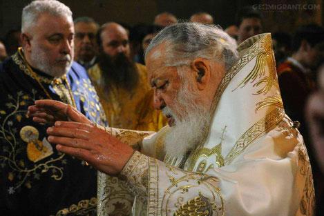 Святейший Патриарх всея Грузии Илия II попросил еврокомиссару легализовать Грузинских мигрантов в Европе