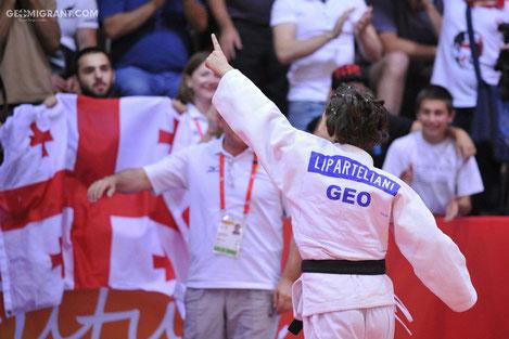 Дзюдоистки Мзия Бебошвили и Этер Липартелиани принесли сборной Грузии две золотые медали на Европейском Олимпийском Юношеском Фестивале