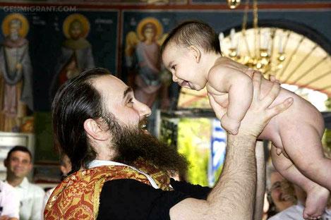 Крестниками Патриарха всея Грузии станут еще 797 детей