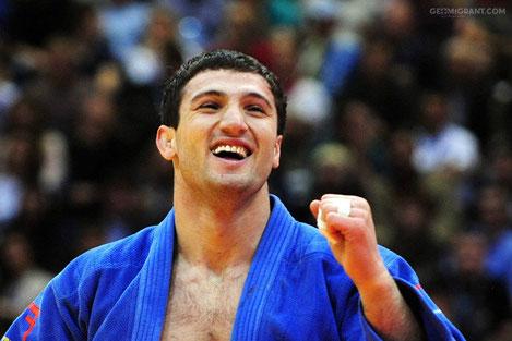 Грузинский дзюдоист Варлам Липартелиани стал победителем турнира «Большой Шлем» в Париже