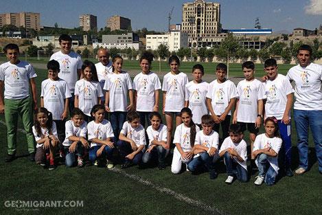 Армянские дети поедут на матч «Барса - Севилья» в Тбилиси