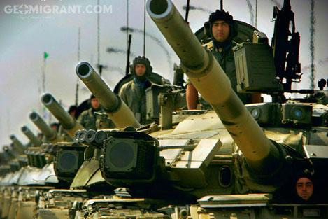 Рядом с Тбилиси открылся Танкодром