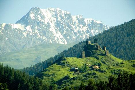 Швейцария поможет Грузии в возрождении уникального горного региона Тушети