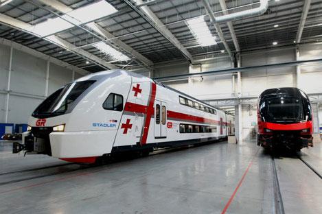 «Stadler» начинает строительство завода в Грузии