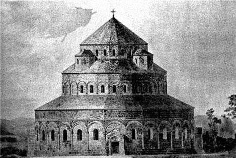 В Грузии построят точную копию уникального православного храма «Бана»