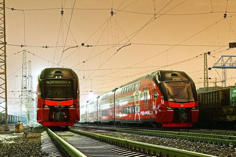 Грузия закупает двухэтажные поезда «Stadler»