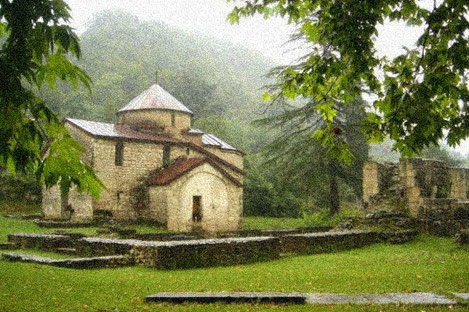 В дворце патриарха в грузинском Хоби обнаружены бесценные артефакты