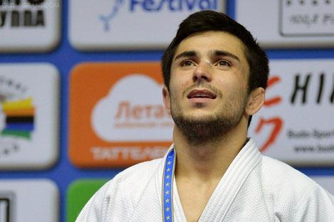 Грузинский дзюдоист Важа Маргвелашвили стал чемпионом Европы