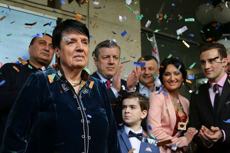 Великая грузинская шахматистка Нона Гаприндашвили очередной раз стала чемпионкой мира
