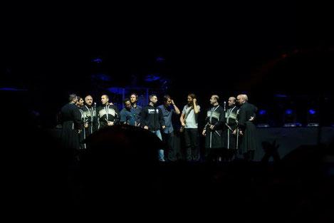 «Эрисиони» и «Maroon 5»: Красивый тандем двух легенд