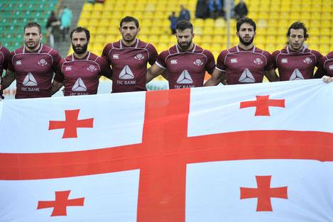 Сборная Грузии по регби обыграла команду России в Краснодаре