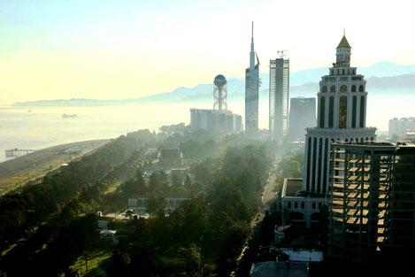 Новый рекламный ролик о Батуми появился на Euronews, BBC и NBC