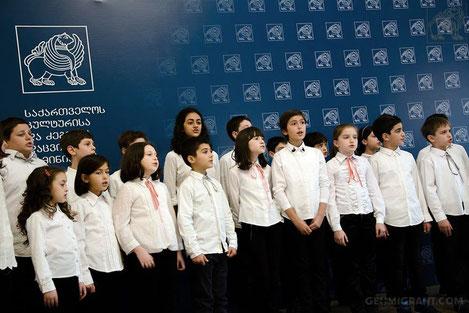 Грузинский детский хор «Патара Георгика» одержал победу на фестивале в Испании