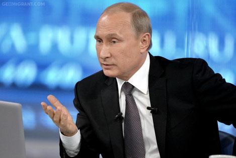 Путин: Россия готова отменить визовый режим с Грузией