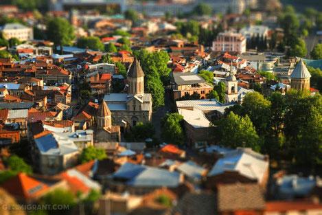 В центре Тбилиси появится «Зеленая Улица»