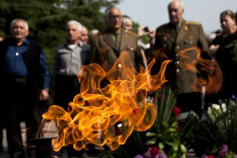 Грузия празднует День Победы