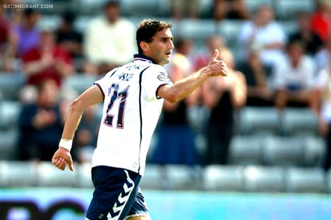 Грузинский форвард Матэ Вацадзе признан лучшим игроком Суперлиги Дании