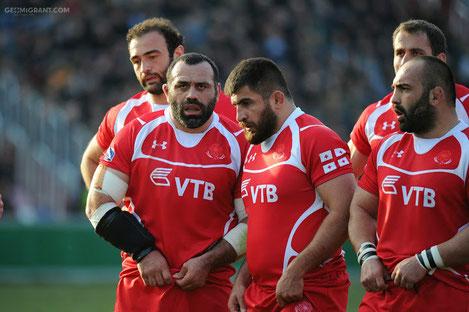 Сборная Грузии по регби впервые стартовала на Кубке мира с победы