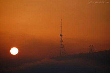 Тбилисская телевизионная башня засияет, как Эйфелевая