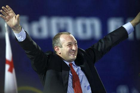 Президент Грузии стал Дедушкой