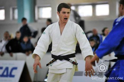 Грузинский дзюдоист Тамаз Киракозашвили стал чемпионом Европы